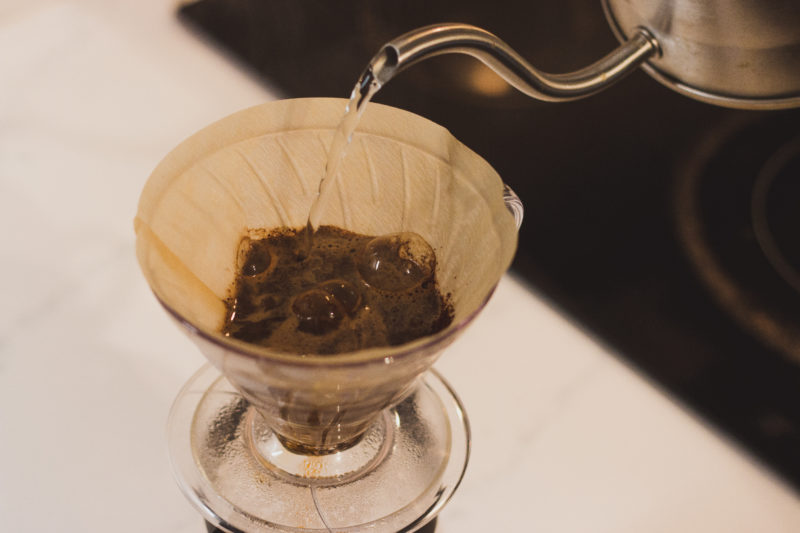 photo of the pour-over method
